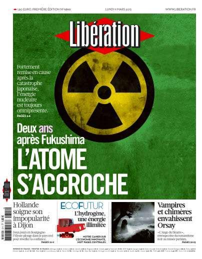 Libération Lundi 11 Mars 2013