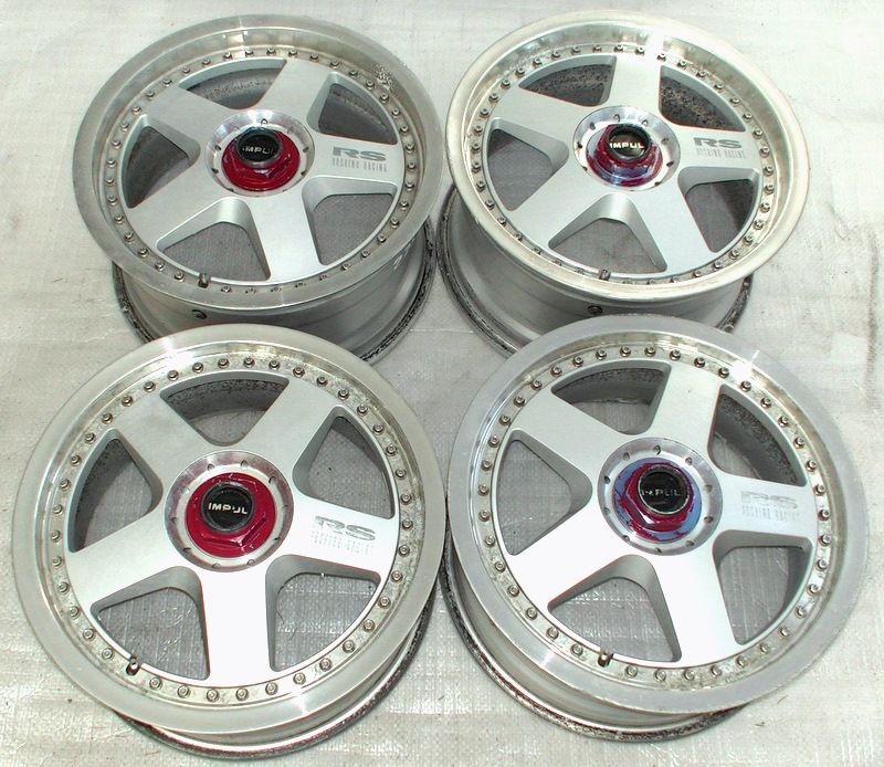 IMPUL HOSHINO 16 7J 8J 5x100 Rims Alloy Wheels Celica Impreza Le