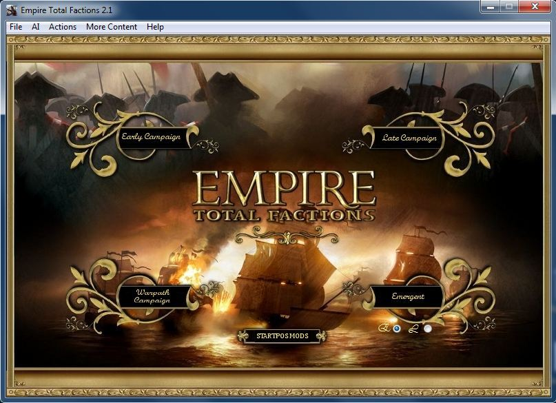 Empire total factions скачать мод