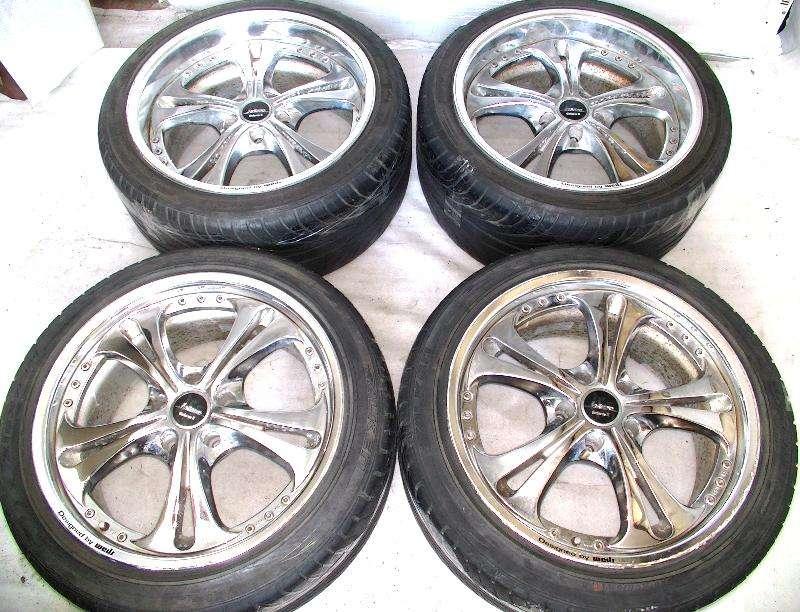 WEDS Kranze Cerberus II 18X8.5J 9.5J 5x114 Rims Alloy Wheels 300