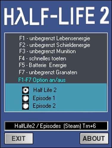 1Half Life 2 Trainer