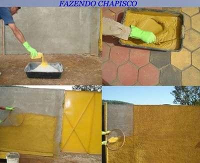 Corante pigmento para concreto grafiato chapisco reboco for Pigmento para cemento