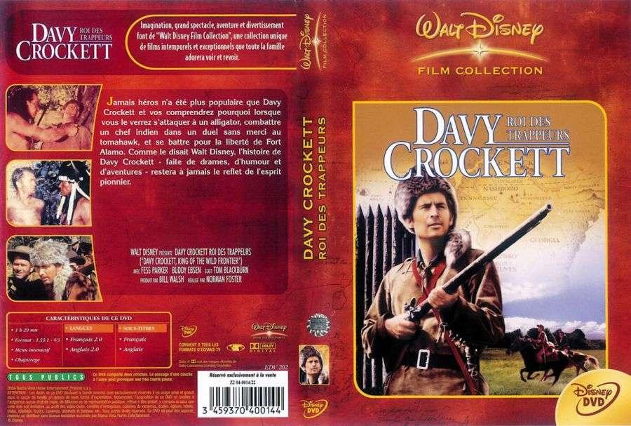 Davy Crockett - King of the Wild Frontier (1955) [DVDRip]