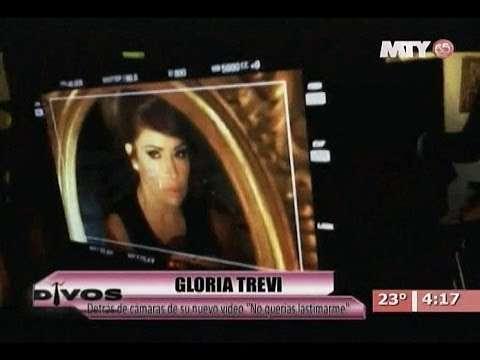 Detras de camaras del video oficial de la canción No querías lastimarme de Gloria Trevi