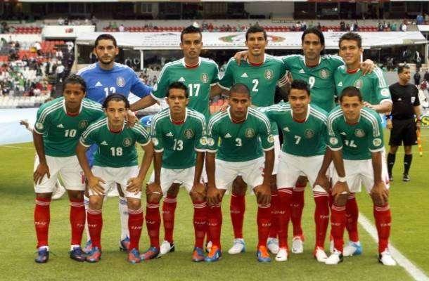 Alineación del México en su partido contra Honduras